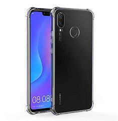 Amazon.com: Jaorty Case Compatible for Huawei Nova 3i Case,Crystal Clear Reinforced Corners TPU Bumper Cushion Anti-Scratch Hybrid Rugged Transparent Back Cover Case for Huawei Nova 3i/P Smart Plus,Clear: Gateway