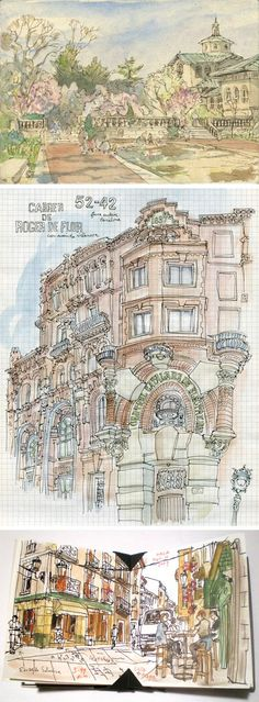 1000+ Images About Reference - Urban Sketching On Pinterest | Urban Sketching Urban Sketchers ...