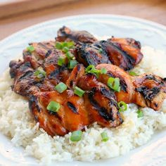 Hawaiian Grilled Chicken. I am excited for summer and grilling and this looks like a yummy and easy dinner.