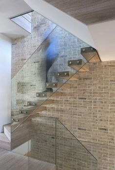 glass staircase?