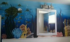 Under the Sea   Mural by Lisa Ivey