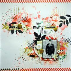 Hey, what's up ?? challenge Pinterest chez Cap de Scrapper ça !!  - Le blog de lespagesdenadia.over-blog.com