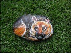 pedras pintadas - Pesquisa Google