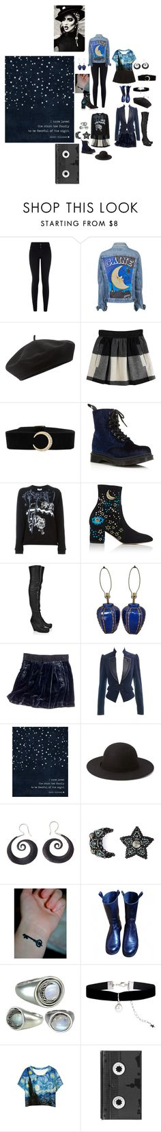 """""""night"""" by astral-leech ❤ liked on Polyvore featuring New Look, Accessorize, Opening Ceremony, Dr. Martens, Kenzo, Valentino, Rick Owens, Hellz, Madewell and Monsoon"""