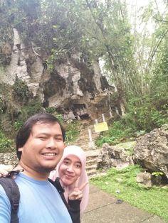 Makam di atas bukit Toraja - sulawesi