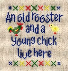 old rooster's chick - (free pdf, mcpat, pat chart & key)