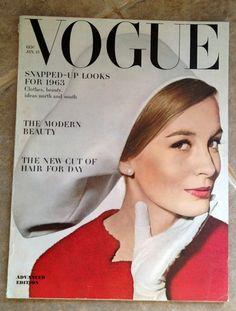 Vogue Magazine January 15 1963 | eBay
