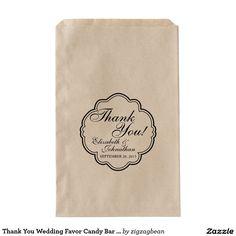 Thank You Wedding Favor Candy Bar Buffet Bags Couple Presents, Wedding Favor Bags, Marriage Tips, Wedding Tips, Special Day, Buffet, Candy, Bar, Engagement