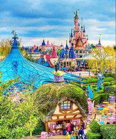 ♚ Fantasyland, Disneyland Paris