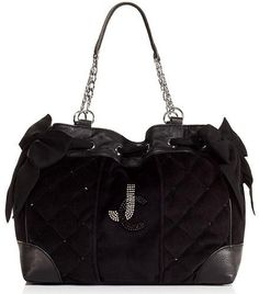 2013 Juicy Couture Daydreamer Handbag Quilted Velour in Black YHRU3298 NWT by Juicy Couture, http://www.amazon.com/dp/B00DFTUR5G/ref=cm_sw_r_pi_dp_X0QVrb1W6R94X