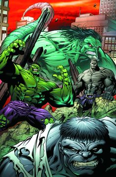 (Hulk: Broken Worlds Vol.1 #2 Cover) By: Paul Pelletier