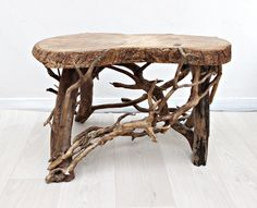 Coffee Table Driftwood Garden Bench