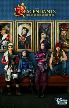 """Disney Channel shared this information about the great ratings that their DCOM """"Descendants"""" received! We LOVED this Disney Channel Original Movie! The Descendants, Disney Channel Movies, Disney Channel Descendants, Disney Channel Original, Disney Channel Stars, Disney Stars, Original Movie, Disney Movies, Carlos Descendants"""