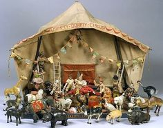 Schoenhut century circus set. Early Twentieth Century