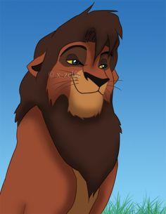 Kovu from Lion King 2: Simba's Pride