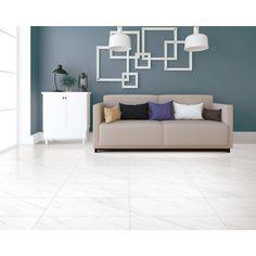 $1.49/sq ft  Tauleto Bianco Matte Porcelain Tile - 12 x 24 - 100572429   Floor and Decor