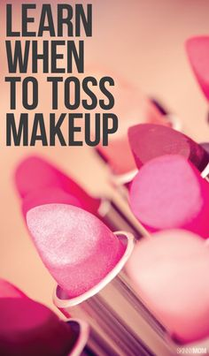 Is your makeup expired? Find out what you need to toss, here!