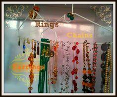 Organizing - jewelry