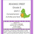 This bundle includes three of my products:  Reading Street Comprehension Unit 5 Grade 3, Reading Street Spelling Unit 5 Grade 3, and Reading Street...