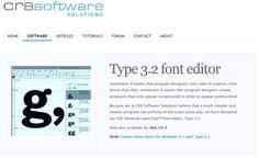 type3.2 font editor