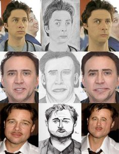 Funny pictures about If Celebrities Looked Like Their Fan Art. Oh, and cool pics about If Celebrities Looked Like Their Fan Art. Also, If Celebrities Looked Like Their Fan Art photos. Really Funny, Funny Cute, The Funny, Hilarious, Funny Laugh, Bad Fan Art, Face Swaps, I Love To Laugh, Celebrity Look