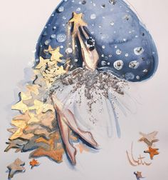 Shooting stars - Katie Rodgers / Paper Fashion
