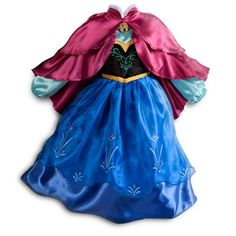 Princess Anna Halloween or Dress-Up costumes are simply adorable ways for little girls to play and have fun.