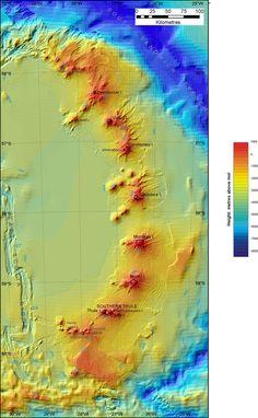 South Sandwich Island Arc  British Antarctic Survey