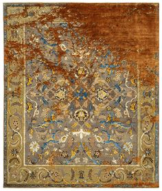 Minimalist Design, Modern Design, Jan Kath, Classical Elements, Silk Material, New Perspective, Persian Carpet, Arabesque, Bohemian Rug