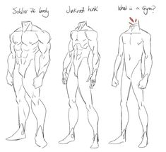 Anatomy Drawing Male Did a miniguide of male anatomy for a friend. A lot of people ask me if they can use my art as reference and I dont advice to do that. You will learn faster and better doing your own anatomy studies. Body Reference Drawing, Human Reference, Drawing Reference Poses, Anatomy Reference, Drawing Poses, Drawing Tips, Drawing Body Proportions, Male Pose Reference, Sketching Tips