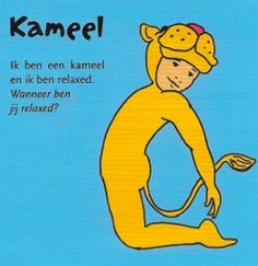 I am a camel and I am relaxed