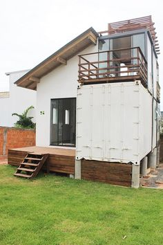 Casa Container em Florianópolis #containerhome #shippingcontainer