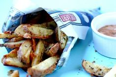 Parmesan-Ranch Oven Fries