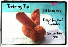 Washcloth Bunny Teether (Tutorial)
