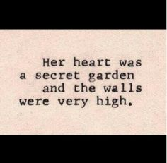 Oh so true but worth  finding that garden and helping it grow...