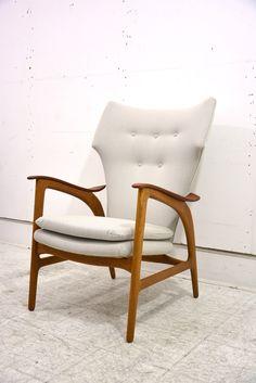 Schubell & Madsen armchair in Kvadrat, Steel cut upholstery. £1800
