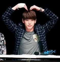 B.A.P Himchan // Who said B.A.P doesn't do aegyo??