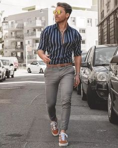 33 men's style trends you should undoubtedly try 17 ⋆ talkinggames net is part of Mens fashion - 33 men's style trends you should undoubtedly try 17 Outfit Jeans, Shirt Outfit, Mode Man, Formal Men Outfit, Formal Outfits, Mens Attire, Elegantes Outfit, Men Looks, Men Style Tips