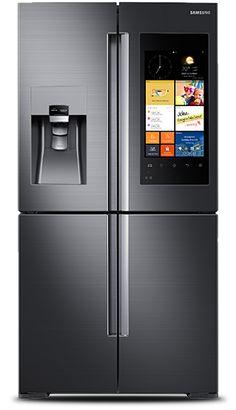 Family Hub Refrigerator  Get the tech job with your dream company through us http://recruitingforgood.com/