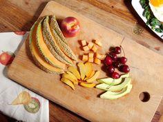 'Spuntino' with fresh fruit