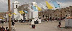 Casabindo, corrida de Toros, en Jujuy, a un paso de la Nueva y la Vieja Ruta 40 jujeña.