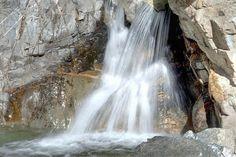 Lower Big Falls in Forest Falls California
