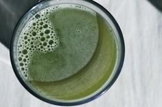 The Spinach Spot: Pear Cucumber Juice
