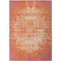 Alias Feu Rug 140 x 200 cm ($345) ❤ liked on Polyvore featuring home, rugs, orange area rug and orange rug
