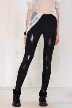 1dc78c0958 Nasty Gal Zone Out Leggings | Shop Clothes at Nasty Gal! Fekete Leggings,  Ruhák