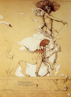 Auromira Dreaming by Michael Parkes