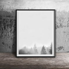 Scandinavian print Printable filesFog in the by OandBstudios