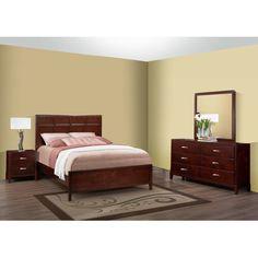 Soho Panel 4 Piece Bedroom Set Size: Queen - http://delanico.com/bedroom-sets/soho-panel-4-piece-bedroom-set-size-queen-590190389/