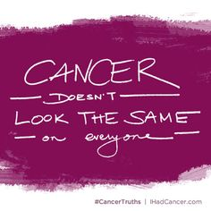 5 Things People With Cancer Want You to Know   I Had Cancer.