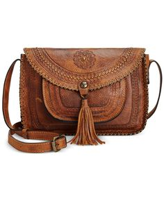 Clearance/Closeout Handbags and Accessories on Sale - Macy's Patricia Nash, Distressed Leather, Mens Gift Sets, Italian Leather, Cross Body Handbags, Handbag Accessories, Pumps Heels, Crossbody Bags, Brown Leather Crossbody Bag